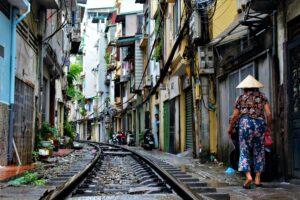 Train Street. Viajar a Vietnam