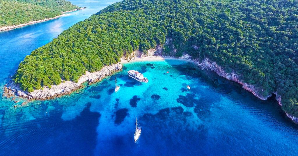 Este rincón de Grecia está considerado entre los más bonitos del mundo