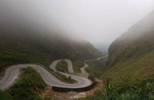 Carreteras del loop de Hi Giang