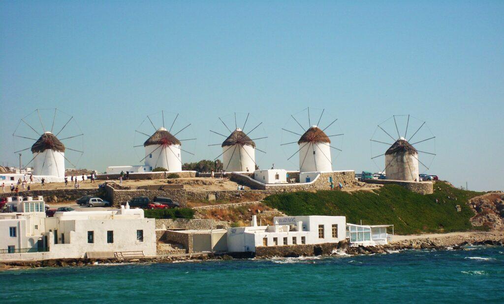 Mikonos, molinos, windmills