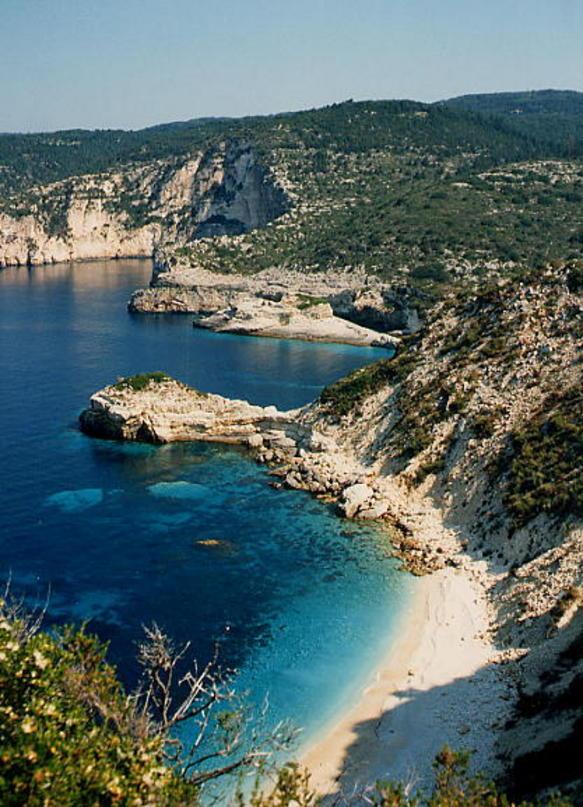 Paxos y Antipaxos, islas griegas