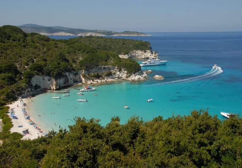 Paxos Antipaxos islas griegas