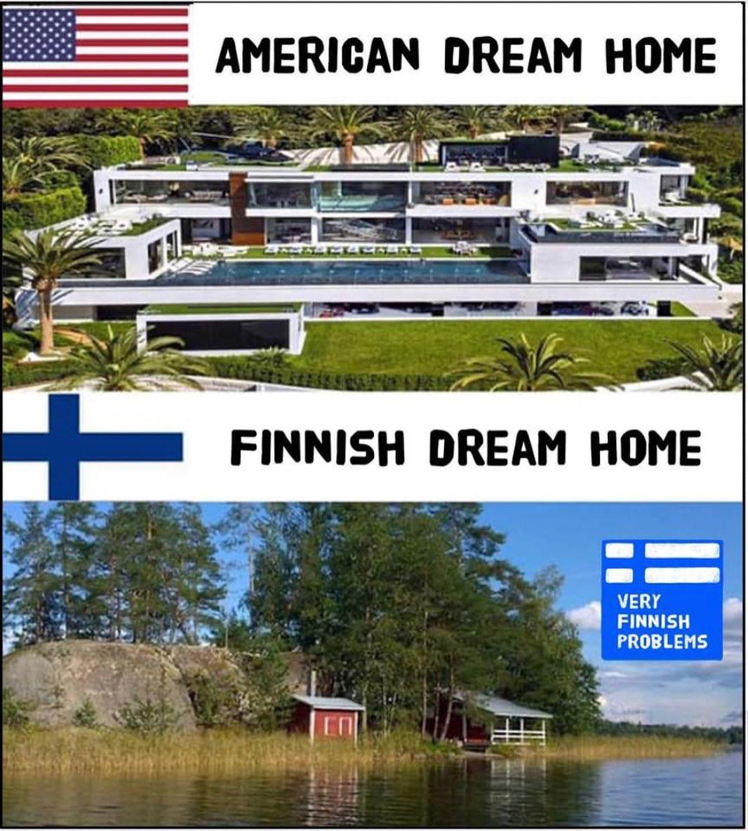 La casa ideal de un finlandés para ser feliz